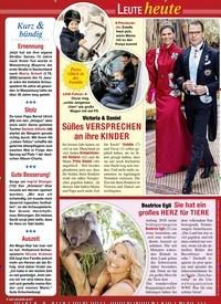 Titelbild der Ausgabe 4/2020 von LEUTE heute. Zeitschriften als Abo oder epaper bei United Kiosk online kaufen.