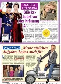 Titelbild der Ausgabe 4/2020 von MARY & FREDERIK: Glücks-Jubel vor der Krönung. Zeitschriften als Abo oder epaper bei United Kiosk online kaufen.