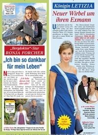 """Titelbild der Ausgabe 4/2020 von """"Bergdoktor""""-Star RONJA FORCHER: """"Ich bin so dankbar für mein Leben"""". Zeitschriften als Abo oder epaper bei United Kiosk online kaufen."""
