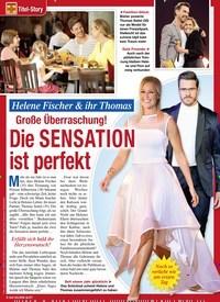Titelbild der Ausgabe 4/2020 von Titel-Story:Helene Fischer & ihr Thomas: Große Überraschung!: Die SENSATION ist perfekt. Zeitschriften als Abo oder epaper bei United Kiosk online kaufen.