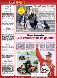 Titelbild der Ausgabe 5/2020 von Leute heute. Zeitschriften als Abo oder epaper bei United Kiosk online kaufen.