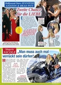 Titelbild der Ausgabe 5/2020 von Hollywood-Stars JENNIFER ANISTON & BRAD PITT: Zweite Chance für die LIEBE. Zeitschriften als Abo oder epaper bei United Kiosk online kaufen.