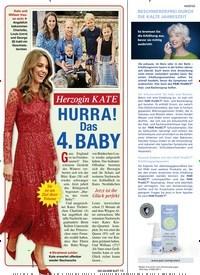 Titelbild der Ausgabe 5/2020 von Herzogin KATE: HURRA! Das 4. BABY. Zeitschriften als Abo oder epaper bei United Kiosk online kaufen.