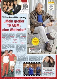 """Titelbild der Ausgabe 7/2020 von TV-Star Bernd Herzsprung: """"Mein großer TRAUM: eine Weltreise"""". Zeitschriften als Abo oder epaper bei United Kiosk online kaufen."""
