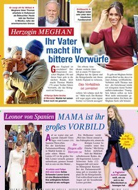 Titelbild der Ausgabe 7/2020 von Herzogin MEGHAN: Ihr Vater macht ihr bittere Vorwürfe. Zeitschriften als Abo oder epaper bei United Kiosk online kaufen.