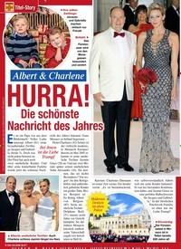 Titelbild der Ausgabe 7/2020 von Titel-Story: Albert & Charlene: HURRA!: Die schönste Nachricht des Jahres. Zeitschriften als Abo oder epaper bei United Kiosk online kaufen.