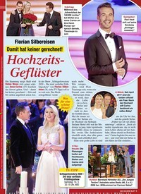 Titelbild der Ausgabe 9/2020 von Florian Silbereisen: Damit hat keiner gerechnet!: Hochzeits- Geflüster. Zeitschriften als Abo oder epaper bei United Kiosk online kaufen.