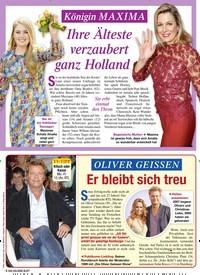 Titelbild der Ausgabe 9/2020 von OLIVER GEISSEN: Er bleibt sich treu. Zeitschriften als Abo oder epaper bei United Kiosk online kaufen.