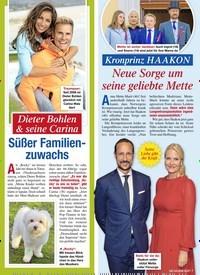 Titelbild der Ausgabe 9/2020 von Dieter Bohlen & seine Carina: Süßer Familienzuwachs. Zeitschriften als Abo oder epaper bei United Kiosk online kaufen.