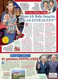 """Titelbild der Ausgabe 9/2020 von TV-Star Elena Uhlig: """"Wenn ich Ruhe brauche, gehe ich EINKAUFEN"""". Zeitschriften als Abo oder epaper bei United Kiosk online kaufen."""