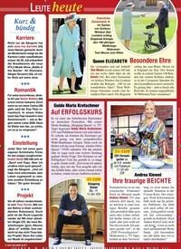 Titelbild der Ausgabe 31/2020 von Leute heute. Zeitschriften als Abo oder epaper bei United Kiosk online kaufen.