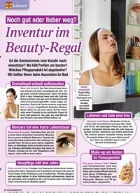 Titelbild der Ausgabe 32/2020 von Inventur im Beauty-Regal. Zeitschriften als Abo oder epaper bei United Kiosk online kaufen.