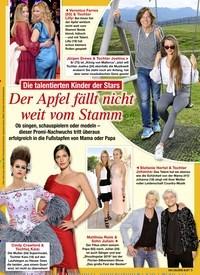 Titelbild der Ausgabe 33/2020 von Die talentierten Kinder der Stars: Der Apfel fällt nicht weit vom Stamm. Zeitschriften als Abo oder epaper bei United Kiosk online kaufen.