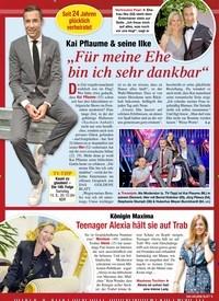 """Titelbild der Ausgabe 33/2020 von Kai Pflaume & seine Ilke: """"Für meine Ehe bin ich sehr dankbar"""". Zeitschriften als Abo oder epaper bei United Kiosk online kaufen."""