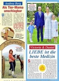 Titelbild der Ausgabe 33/2020 von Victoria & Daniel: LIEBE ist die beste Medizin. Zeitschriften als Abo oder epaper bei United Kiosk online kaufen.