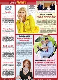 Titelbild der Ausgabe 37/2020 von Leute heute: Kurz & bündig. Zeitschriften als Abo oder epaper bei United Kiosk online kaufen.
