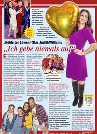 """Titelbild der Ausgabe 37/2020 von """"Höhle der Löwen""""-Star Judith Williams: """"Ich gebe niemals auf"""". Zeitschriften als Abo oder epaper bei United Kiosk online kaufen."""