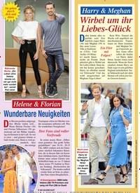 Titelbild der Ausgabe 40/2020 von Helene & Florian: Wunderbare Neuigkeiten. Zeitschriften als Abo oder epaper bei United Kiosk online kaufen.
