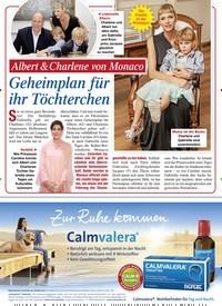 Titelbild der Ausgabe 40/2020 von Albert & Charlene von Monaco: Geheimplan für ihr Töchterchen. Zeitschriften als Abo oder epaper bei United Kiosk online kaufen.