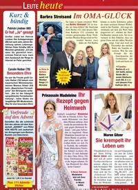 Titelbild der Ausgabe 43/2020 von Barbra Streisand: Im OMA-GLÜCK. Zeitschriften als Abo oder epaper bei United Kiosk online kaufen.