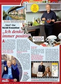 """Titelbild der Ausgabe 43/2020 von """"Tatort""""-Star Harald Krassnitzer: """"Ich denke immer positiv"""". Zeitschriften als Abo oder epaper bei United Kiosk online kaufen."""