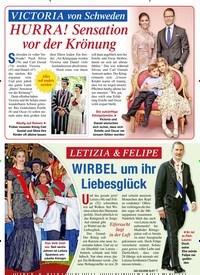 Titelbild der Ausgabe 43/2020 von VICTORIA von Schweden: HURRA! Sensation vor der Krönung. Zeitschriften als Abo oder epaper bei United Kiosk online kaufen.
