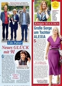Titelbild der Ausgabe 43/2020 von Lilo Pulver: Neues GLÜCK mit 91. Zeitschriften als Abo oder epaper bei United Kiosk online kaufen.