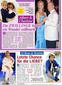 Titelbild der Ausgabe 44/2020 von Albert & Charlene: Die ZWILLINGE haben ein Wunder vollbracht. Zeitschriften als Abo oder epaper bei United Kiosk online kaufen.