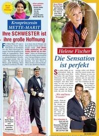 Titelbild der Ausgabe 44/2020 von Kronprinzessin METTE-MARIT: Ihre SCHWESTER ist ihre große Hoffnung. Zeitschriften als Abo oder epaper bei United Kiosk online kaufen.