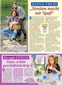 """Titelbild der Ausgabe 49/2020 von ELENA UHLIG """"Streiten macht mir Spaß"""". Zeitschriften als Abo oder epaper bei United Kiosk online kaufen."""