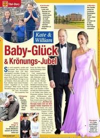 Titelbild der Ausgabe 49/2020 von Titel-Story: Kate & William: Baby-Glück & Krönungs-Jubel. Zeitschriften als Abo oder epaper bei United Kiosk online kaufen.