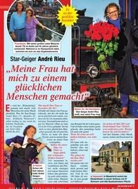 """Titelbild der Ausgabe 2/2021 von Star-Geiger André Rieu: """"Meine Frau hat mich zu einem glücklichen Menschen gemacht"""". Zeitschriften als Abo oder epaper bei United Kiosk online kaufen."""