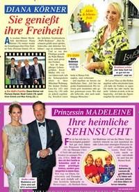 Titelbild der Ausgabe 2/2021 von DIANA KÖRNER: Sie genießt ihre Freiheit. Zeitschriften als Abo oder epaper bei United Kiosk online kaufen.
