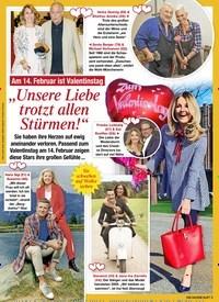 """Titelbild der Ausgabe 6/2021 von Am 14. Februar ist Valentinstag: """"Unsere Liebe trotzt allen Stürmen!"""". Zeitschriften als Abo oder epaper bei United Kiosk online kaufen."""