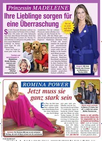 Titelbild der Ausgabe 6/2021 von ROMINA POWER: Jetzt muss sie ganz stark sein. Zeitschriften als Abo oder epaper bei United Kiosk online kaufen.