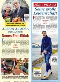 Titelbild der Ausgabe 6/2021 von ALBERT & PAOLA von Belgien: Neues Ehe-Glück. Zeitschriften als Abo oder epaper bei United Kiosk online kaufen.