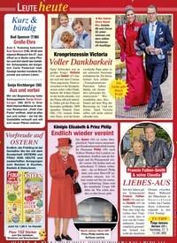 Titelbild der Ausgabe 12/2021 von Kronprinzessin Victoria: Voller Dankbarkeit. Zeitschriften als Abo oder epaper bei United Kiosk online kaufen.