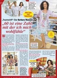 """Titelbild der Ausgabe 12/2021 von """"Traumschiff""""-Star Barbara Wussow: """"60 ist eine Zahl, mit der ich mich wohlfühle"""". Zeitschriften als Abo oder epaper bei United Kiosk online kaufen."""