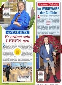 Titelbild der Ausgabe 12/2021 von ANDRÉ RIEU: Er ordnet sein LEBEN neu. Zeitschriften als Abo oder epaper bei United Kiosk online kaufen.