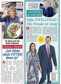 """Titelbild der Ausgabe 20/2021 von Wencke Myhre: """"Ich fühle mich FITTER denn je"""". Zeitschriften als Abo oder epaper bei United Kiosk online kaufen."""
