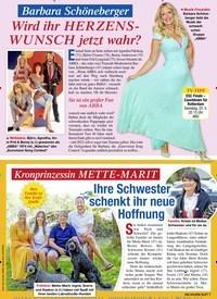 Titelbild der Ausgabe 20/2021 von Barbara Schöneberger: Wird ihr HERZENSWUNSCH jetzt wahr?. Zeitschriften als Abo oder epaper bei United Kiosk online kaufen.