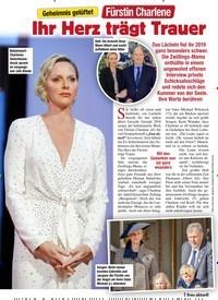 Titelbild der Ausgabe 3/2020 von Geheimnis gelüftet: Fürstin Charlene: Ihr Herz trägt Trauer. Zeitschriften als Abo oder epaper bei United Kiosk online kaufen.