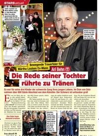 Titelbild der Ausgabe 3/2020 von STARS aktuell: Bewegende Trauerfeier für Märtha Louises Ex-Mann: Ari Behn (†): Die Rede seiner Tochter rührte zu Tränen. Zeitschriften als Abo oder epaper bei United Kiosk online kaufen.
