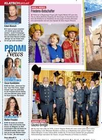 Titelbild der Ausgabe 4/2020 von KLATSCH aktuell: PROMI News. Zeitschriften als Abo oder epaper bei United Kiosk online kaufen.