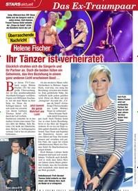 Titelbild der Ausgabe 4/2020 von STARS aktuell: Überraschende Nachricht: Helene Fischer: Ihr Tänzer ist verheiratet. Zeitschriften als Abo oder epaper bei United Kiosk online kaufen.