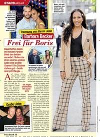 Titelbild der Ausgabe 4/2020 von STARS aktuell: Trennung von ihrem Juan: Barbara Becker: Frei für Boris. Zeitschriften als Abo oder epaper bei United Kiosk online kaufen.
