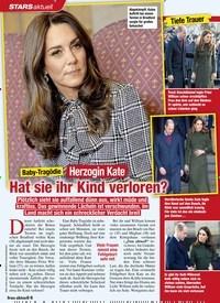 Titelbild der Ausgabe 5/2020 von STARS: Baby-Tragödie: Herzogin Kate: Hat sie ihr Kind verloren?. Zeitschriften als Abo oder epaper bei United Kiosk online kaufen.