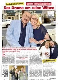 Titelbild der Ausgabe 5/2020 von Er starb in ihren Armen: Joseph Hannesschläger (†): Das Drama um seine Witwe. Zeitschriften als Abo oder epaper bei United Kiosk online kaufen.