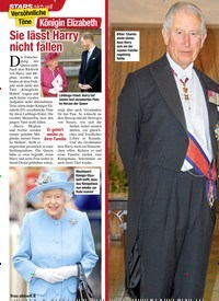 Titelbild der Ausgabe 5/2020 von STARS: Versöhnliche Töne: Königin Elizabeth: Sie lässt Harry nicht fallen. Zeitschriften als Abo oder epaper bei United Kiosk online kaufen.