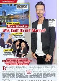 Titelbild der Ausgabe 6/2020 von Florian Silbereisen: Was läuft da mit Marina?. Zeitschriften als Abo oder epaper bei United Kiosk online kaufen.